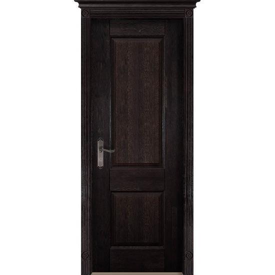 Дверь из массива дуба Verona 1 Венге