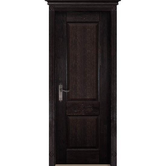Дверь из массива дуба Verona 4 Венге